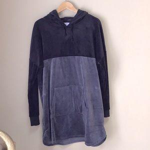 Soft &Cozy DKNY Velour Hoodie Size L